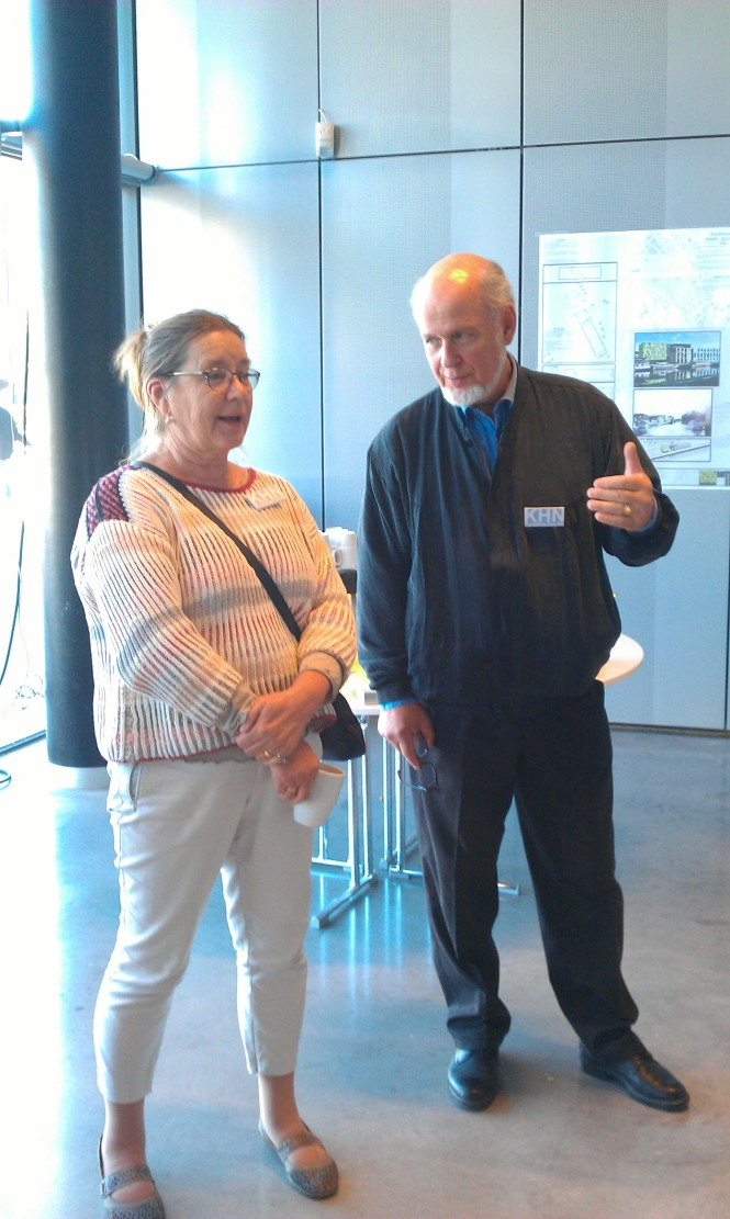 Helena Lindstedt och Per Hultén - arrangörer tillika styrelseledamöter i KHN